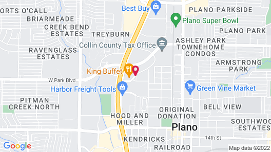 Comfort Inn & Suites Plano East Map