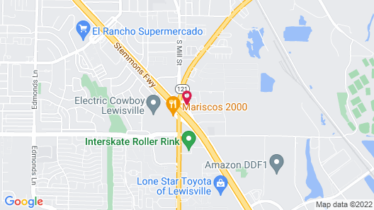 Red Roof Inn Lewisville Map