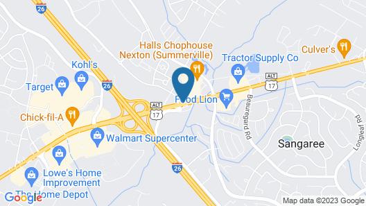 Residence Inn by Marriott  Charleston Summerville Map