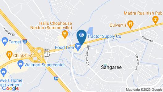 Holiday Inn Express & Suites Summerville, an IHG Hotel Map