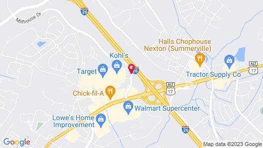 Home2 Suites by Hilton Summerville Map