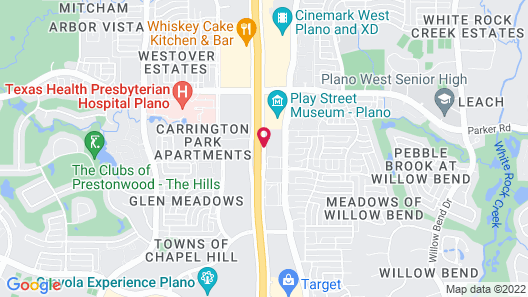 Extended Stay America - Dallas - Plano Map