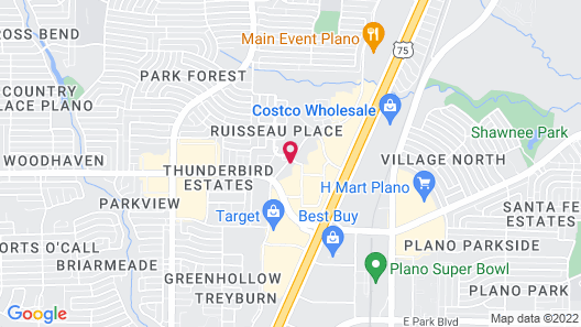 Candlewood Suites Plano North, an IHG Hotel Map