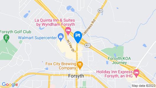 Days Inn by Wyndham Forsyth Map
