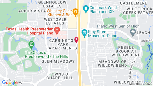 Holiday Inn Express Dallas-North Tollway (N Plano), an IHG Hotel Map