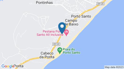 Pestana Porto Santo Beach Resort & Spa Map