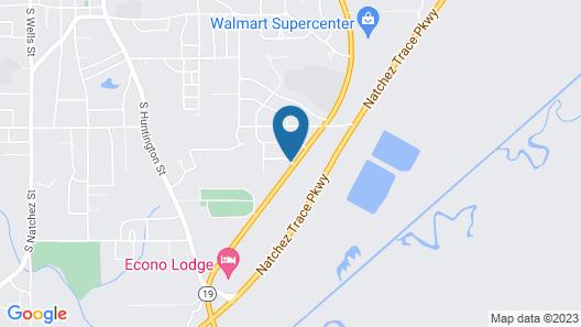 Super 8 by Wyndham Kosciusko Map