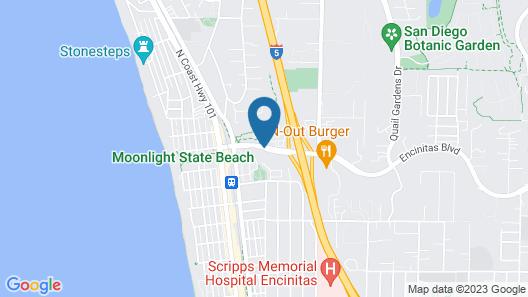 Best Western Encinitas Inn & Suites at Moonlight Beach Map