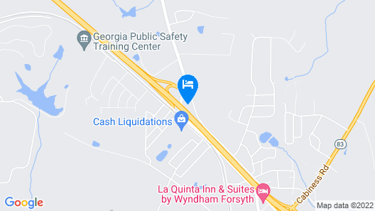 Quality Inn Perry Map
