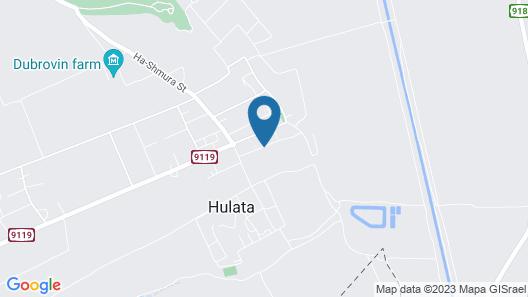 Villa Bat Galilee Map