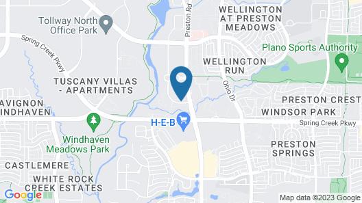 Residence Inn By Marriott Dallas Plano/Legacy Map