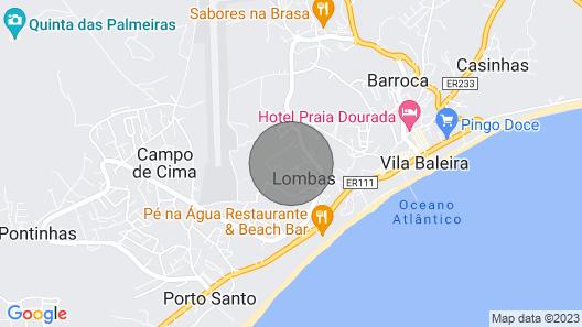Vila Dos Anjos - Porto Santo Map