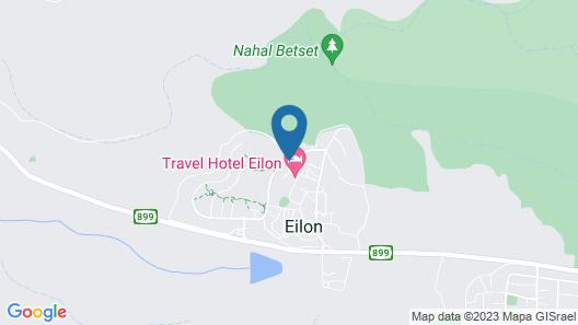Eilon TravelHotel Map