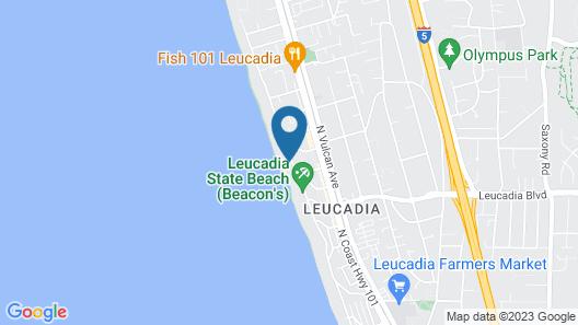 Captivating Oceanfront Home E1062-0 Map
