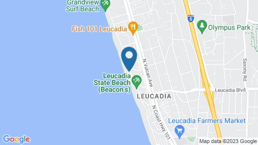 Alluring 7 Bedroom Vacation Rental on the Ocean Map