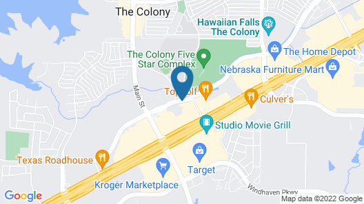 Comfort Suites The Colony - Plano West Map