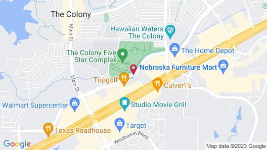 Hyatt Place Dallas / The Colony Map