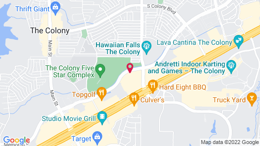 Holiday Inn Express & Suites Plano - The Colony, an IHG Hotel Map