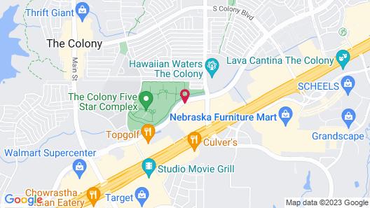 Staybridge Suites Plano - The Colony, an IHG Hotel Map