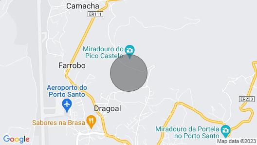 VILA DOS ANJOS - by MHM - PORTO SANTO Map