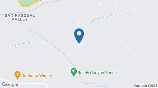 The Ranch at Bandy Canyon Map