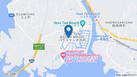 Huis Ten Bosch Forest Villa Map