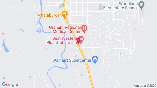 Best Western Plus Graham Inn Map