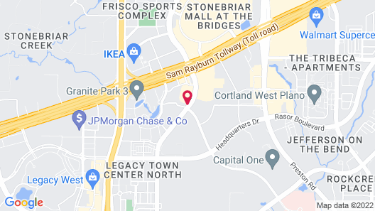 Staybridge Suites Plano - Legacy West Area, an IHG Hotel Map