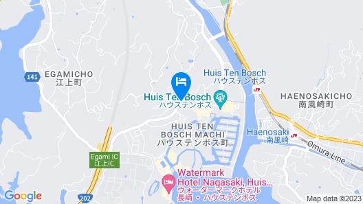 Huis Ten Bosch Henn na Hotel Map