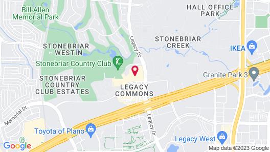 The Westin Dallas Stonebriar Golf Resort & Spa Map