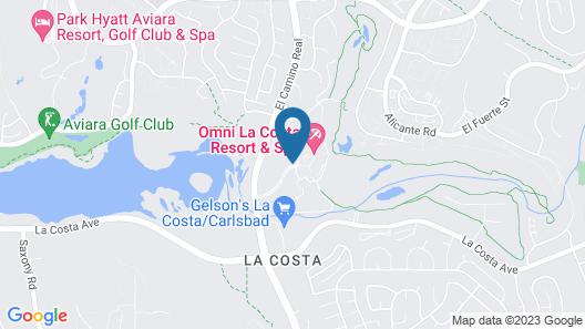 Omni La Costa Resort & Spa Map