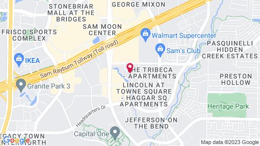 Springhill Suites Dallas Plano/Frisco Map
