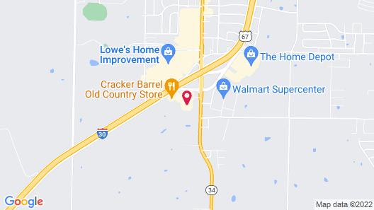 Holiday Inn Express Hotel & Suites Greenville, an IHG Hotel Map