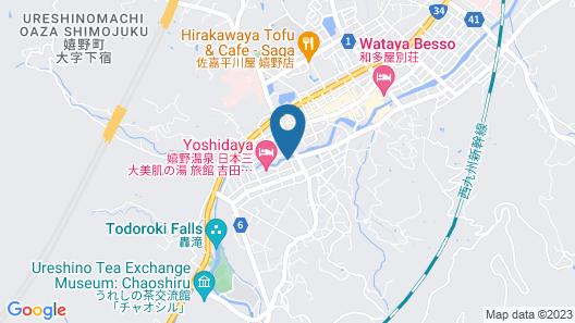 Hotel Kasuien Map