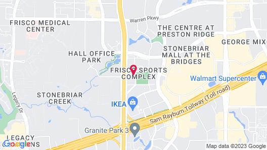 Kasa Dallas Frisco Map
