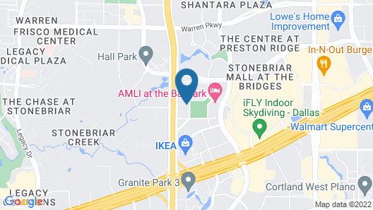 Kasa Dallas Frisco Apartments Map