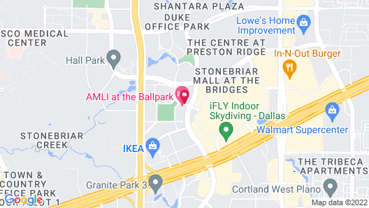 Embassy Suites by Hilton Dallas Frisco Convention Ctr & Spa Map