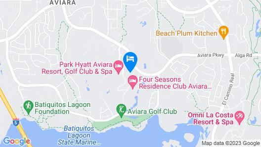 Four Seasons Residence Club Aviara, North San Diego Map