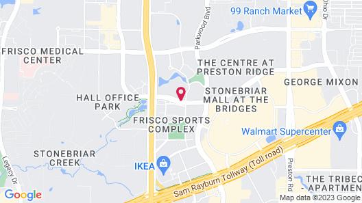 Hilton Garden Inn Frisco Map