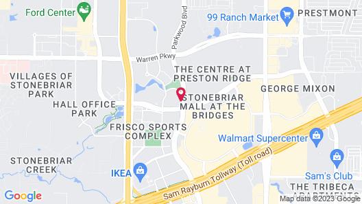 Hyatt House Dallas/Frisco Map