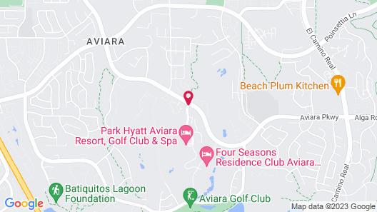 Park Hyatt Aviara Resort, Spa & Golf Club Map
