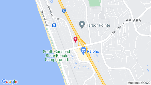 Holiday Inn Express Hotel & Suites Carlsbad Beach, an IHG Hotel Map