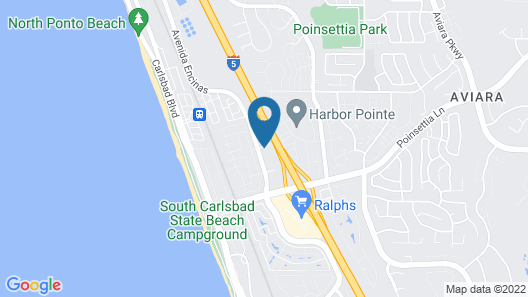 Best Western Carlsbad by the Sea Map