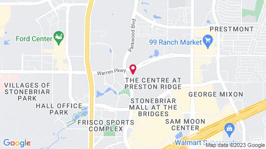 Homewood Suites by Hilton Dallas-Frisco Map