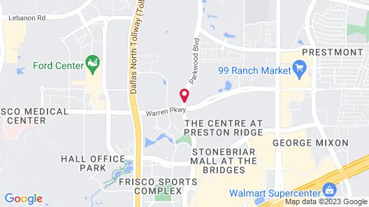 Holiday Inn Express Frisco Map