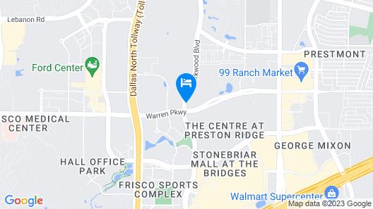 Holiday Inn Express Frisco, an IHG Hotel Map
