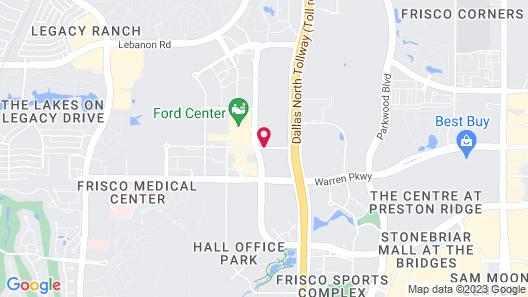 Omni Frisco Hotel Map