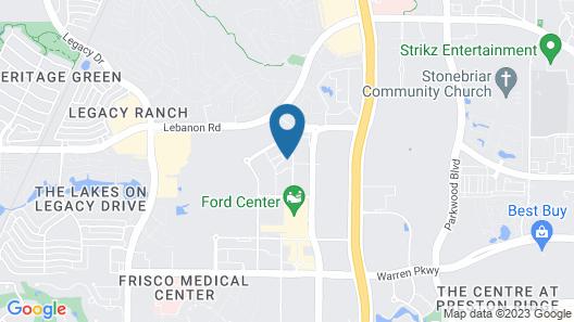 AC Hotel by Marriott Dallas Frisco Map