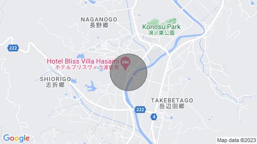 Matsugens Innroom 3 With Onsen Ticket / Higashisonogi-gun Nagasaki Map
