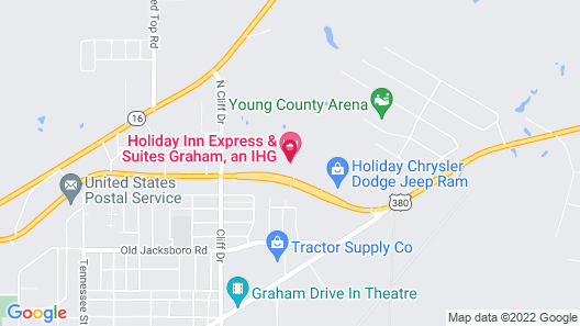 Holiday Inn Express Hotel & Suites Graham, an IHG Hotel Map